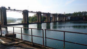 神通川第三ダム湖