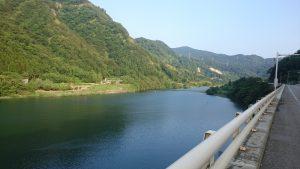 神通川第二ダム湖